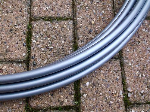 Silver Metallic Polypro Hoop