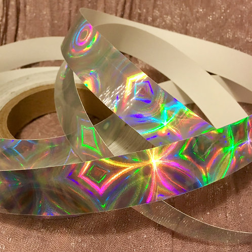 Fourth Dimension/ Suga 4D Holographic Taped Polypro Hoop