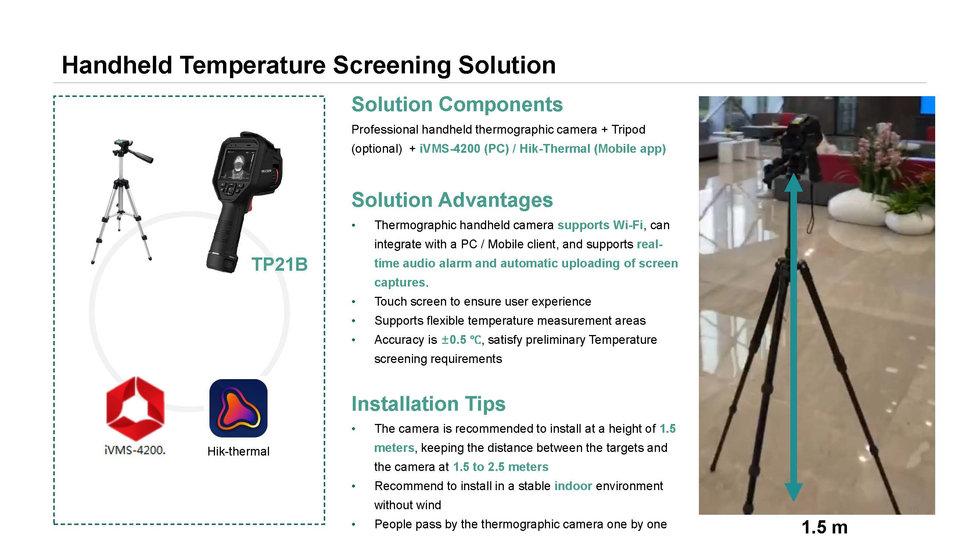 Hikvision Temperature Screening Thermal