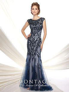 Ivonne D by Mon Cheri Mother's fit and flare gown