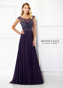 Montage by Mon Cheri A-line Mothers gown