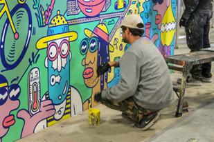 M&M's Store Mural
