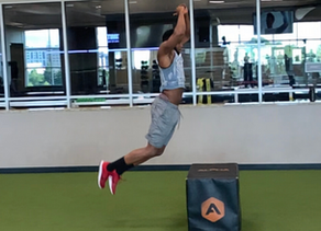 Agility ladder drills to improve quickness, speed, and plyometrics to increase explosiveness