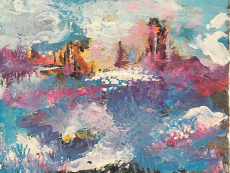 The Rising Tide 10 x 8  $200