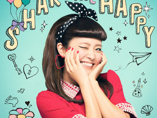 "Shion Miyawaki's New Album ""SHARE THE HAPPY"""