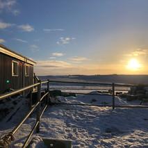 Winter at Hestheimar