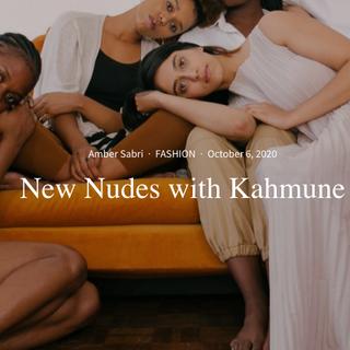 Published Article: Interview with Designer of Kahmune