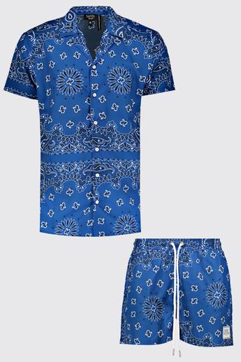 Ensemble short et chemise 54€