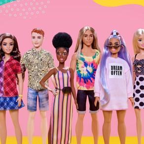 Mattel dit adieu aux clichés avec Barbie et Ken !