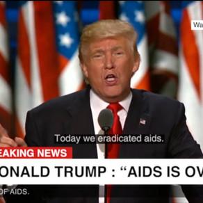 Un deepfake de Solidarité Sida avec Donald Trump