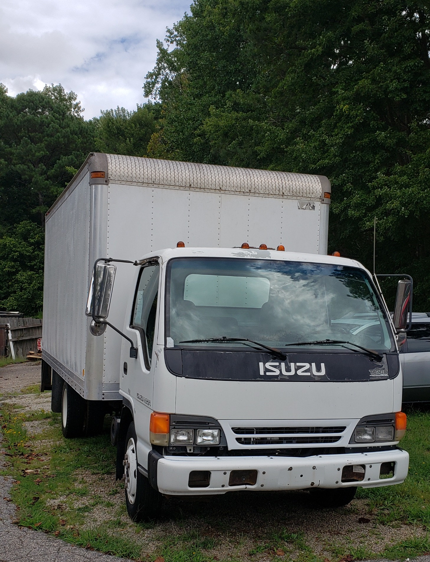 2002 Isuzu Box Truck