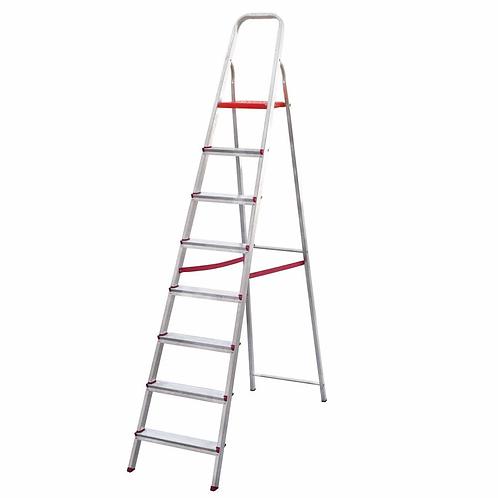 Escada de Alumínio Doméstica Ágata - 08 Degraus
