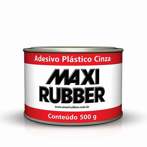 Adesivo Plástico Cinza Maxi Rubber - 500g