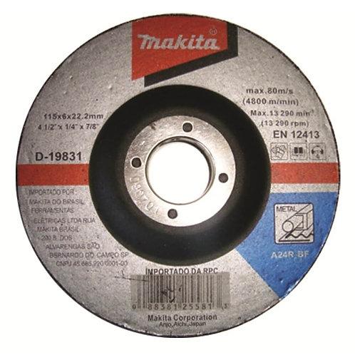 Disco de Desbaste 4.1/2 Metal - Makita