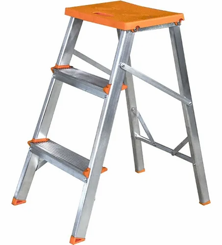 Escada de Alumínio Doméstica Ágata - 03 Degraus