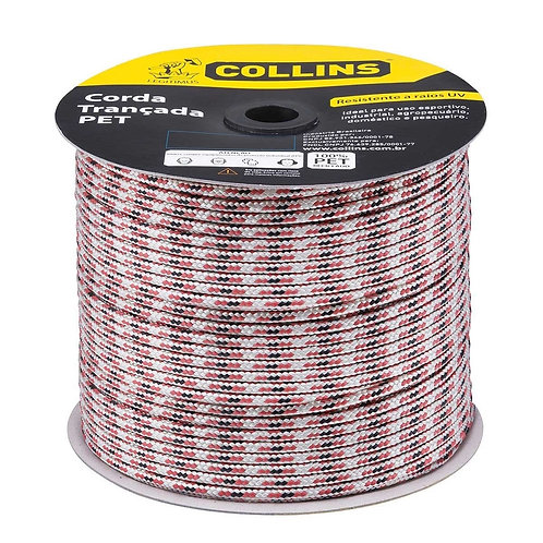 Corda Trançada Color 10mm - Collins