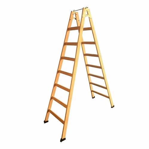 Escada de Madeira Pintor - 08 Degraus