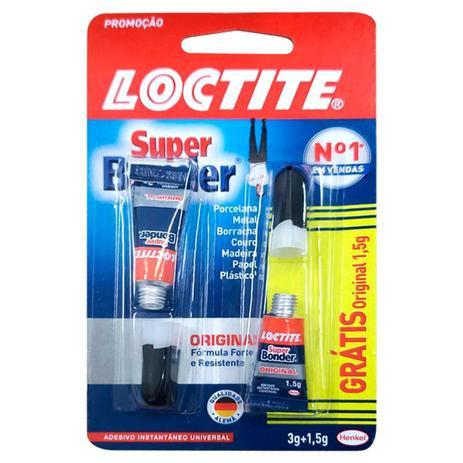 Super Bonder Original Henkel - 3g Grátis + 1,5g
