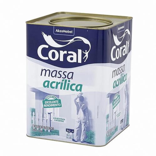 Massa Acrílica Coral - 25kg