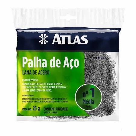 Palha de Aço Atlas - nº1