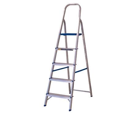 Escada de Alumínio Doméstica Alumasa - 05 Degraus