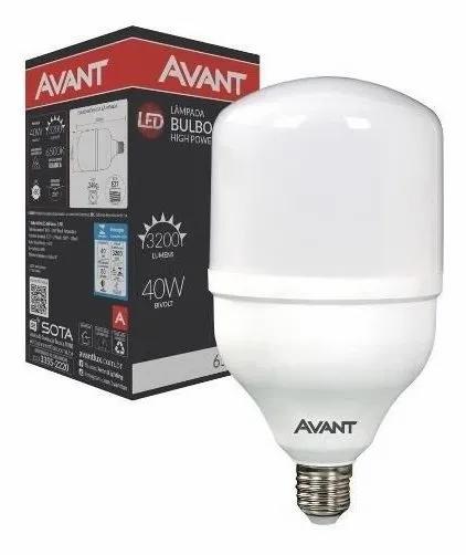 Lâmpada LED 40W Avant 6500k