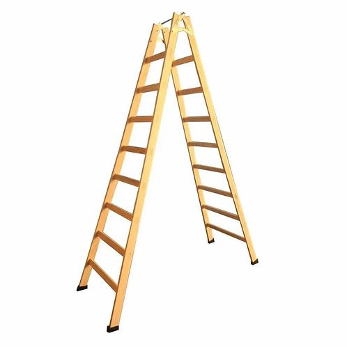 Escada de Madeira Pintor - 09 Degraus