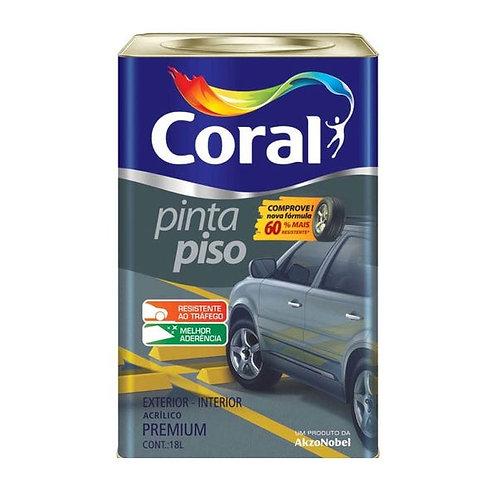 Tinta Pinta Piso Cinza Escuro Coral - 18l