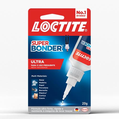 Super Bonder Ultra Adesivo Instantâneo Henkel - 20g