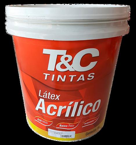 Tinta Latex Economico T&C - Balde 18L