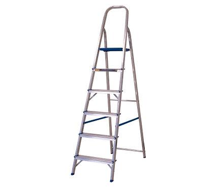 Escada de Alumínio Doméstica Alumasa - 06 Degraus