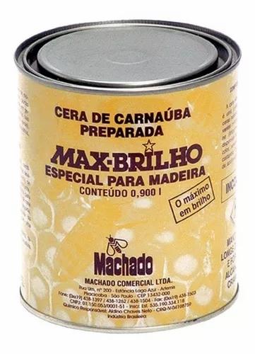 Cera de Carnaúba Max-Brilho Incolor 900ml