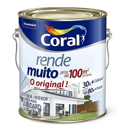 Tinta Coral RENDE MUITO Branco - 3,6L