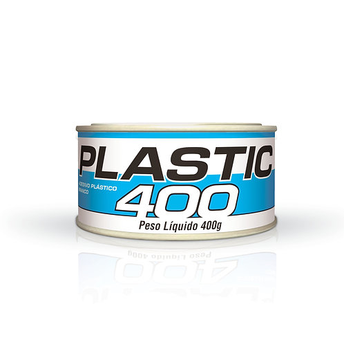 Adesivo Plástico Plastic Branca Maxi Rubber - 400g