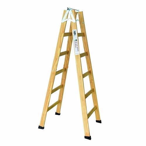 Escada de Madeira Pintor - 10 Degraus