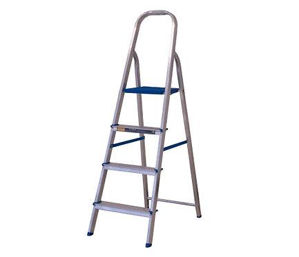 Escada de Alumínio Doméstica Alumasa - 04 Degraus