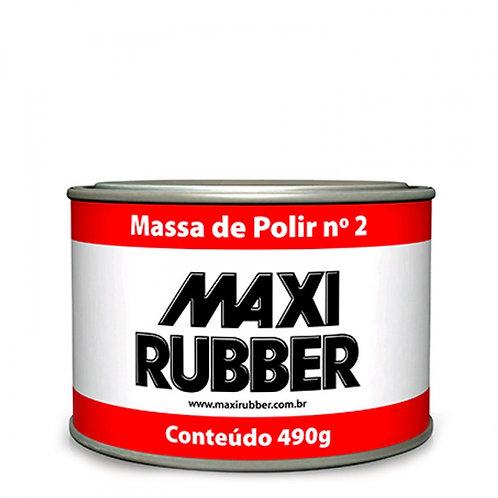 Massa de Polir nº02 Maxi Rubber - 490g