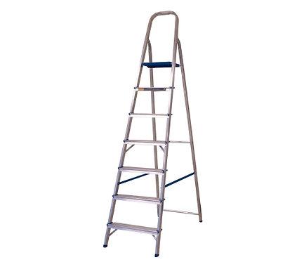 Escada de Alumínio Doméstica Alumasa - 07 Degraus