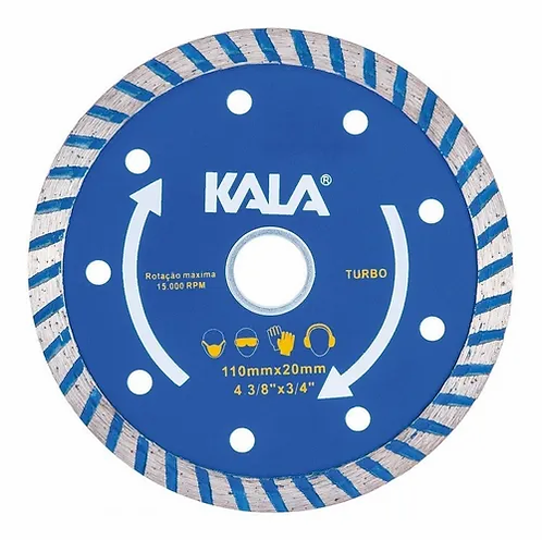 Disco Diamantado Turbo 110X20mm - Kala