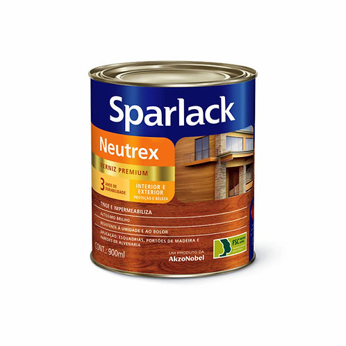 Verniz  Neutrex Mogno Sparlack - 900ml