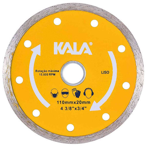 Disco Diamantado Liso 110X20mm - Kala