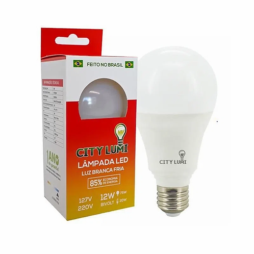 Lâmpada LED 12W City Lumi