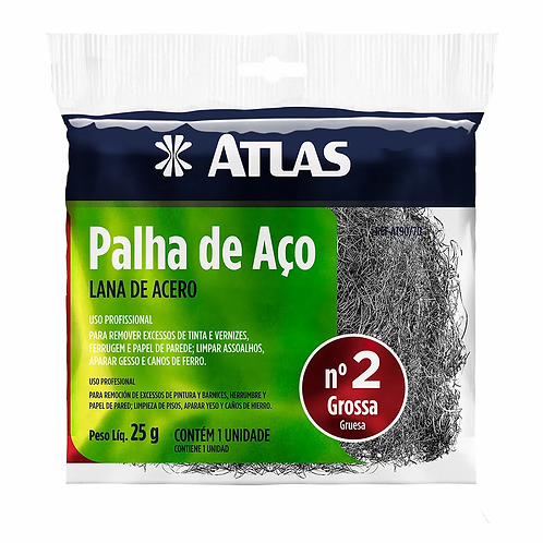 Palha de Aço Atlas - nº2