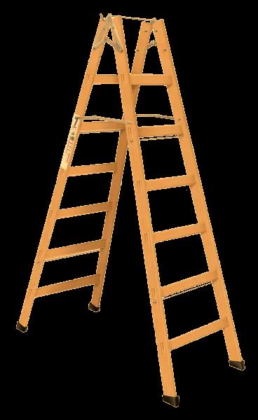 Escada de Madeira Pintor - 7 Degraus