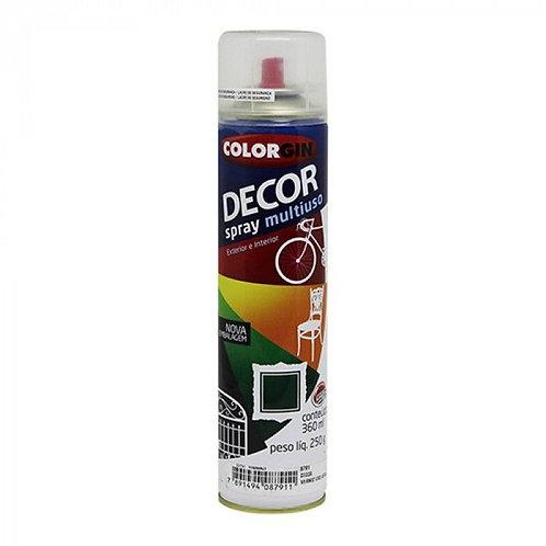 Verniz Spray Colorgin Decor Uso Geral 250g