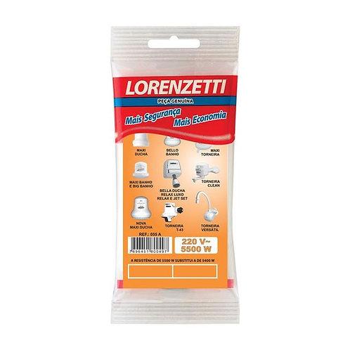 Resistência Ducha 3T 220v/5500w - Lorenzetti