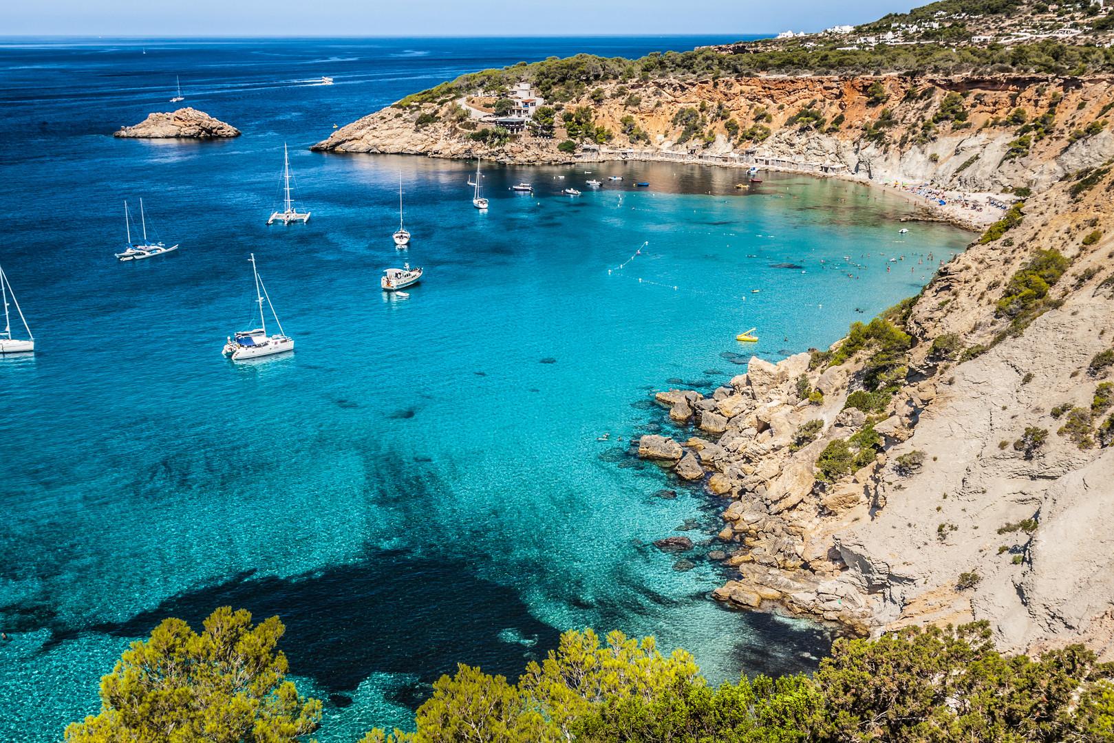 Es vedra island of Ibiza  Cala d Hort in