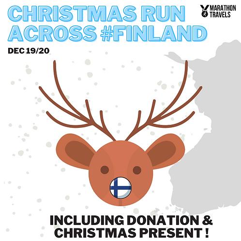 CHRISTMAS RUN #FINLAND