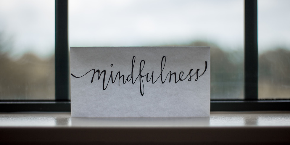 Being Mindful in Disruptive Times, Online Session