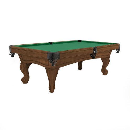 Imperial Pool Table RESOLUTE rams horn legs